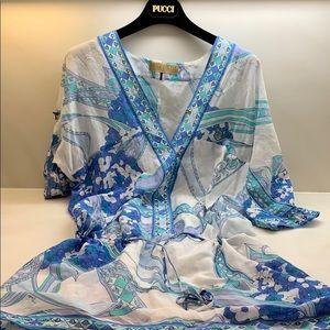Emilio Pucci cover up/ Tunic dress